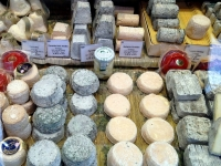 A cheese shop on Rue Cler in Paris