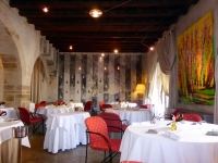 The dining room at Christian Etienne in Avignon