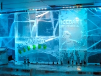 The bar at the ICEBAR Stockholm