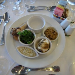 Seder at sea: Remaining connected far from home
