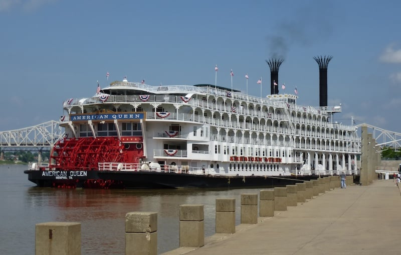 Back on the river: The American Queen steamboat