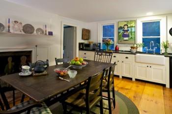 The DIning Room at Chez Sven in Wellfleet, Massachusetts