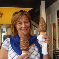 An ice cream cone worth the trip: A ferry ride away at Vieux-Levis, Quebec