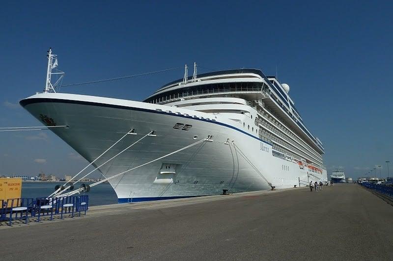 Oceania Marina on the Mediterranean Sea