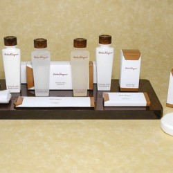 Upscale hotel toiletries too good to leave behind