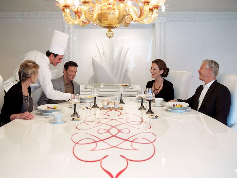 Chef's Tables: On Cruise Ships, Chefs are the Stars