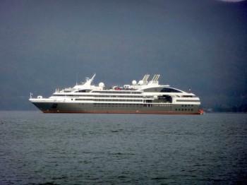 Ponant's Le Boreal is a small, upscale ship.