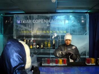 Ice Bar in Copenhagen, Denmark