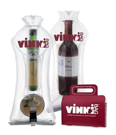The vinnibag wine carrier