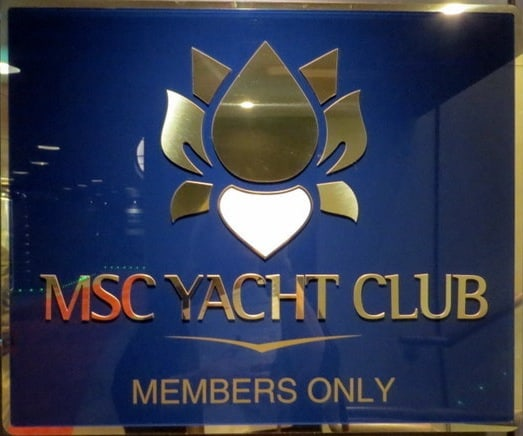 The MSC Yacht Club