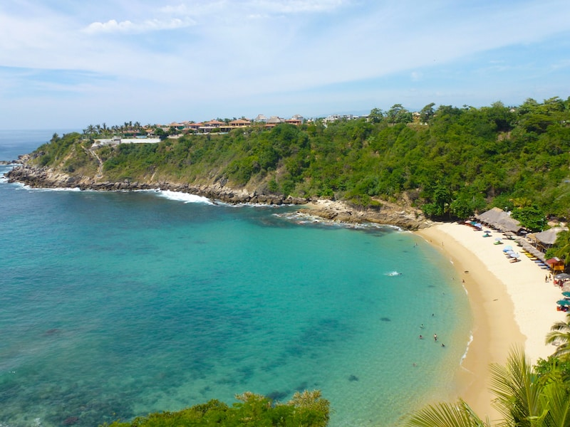 Carrizalillo Beach in Puerto Escondido