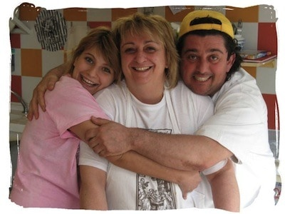 The warm and wonderful Spisni Family