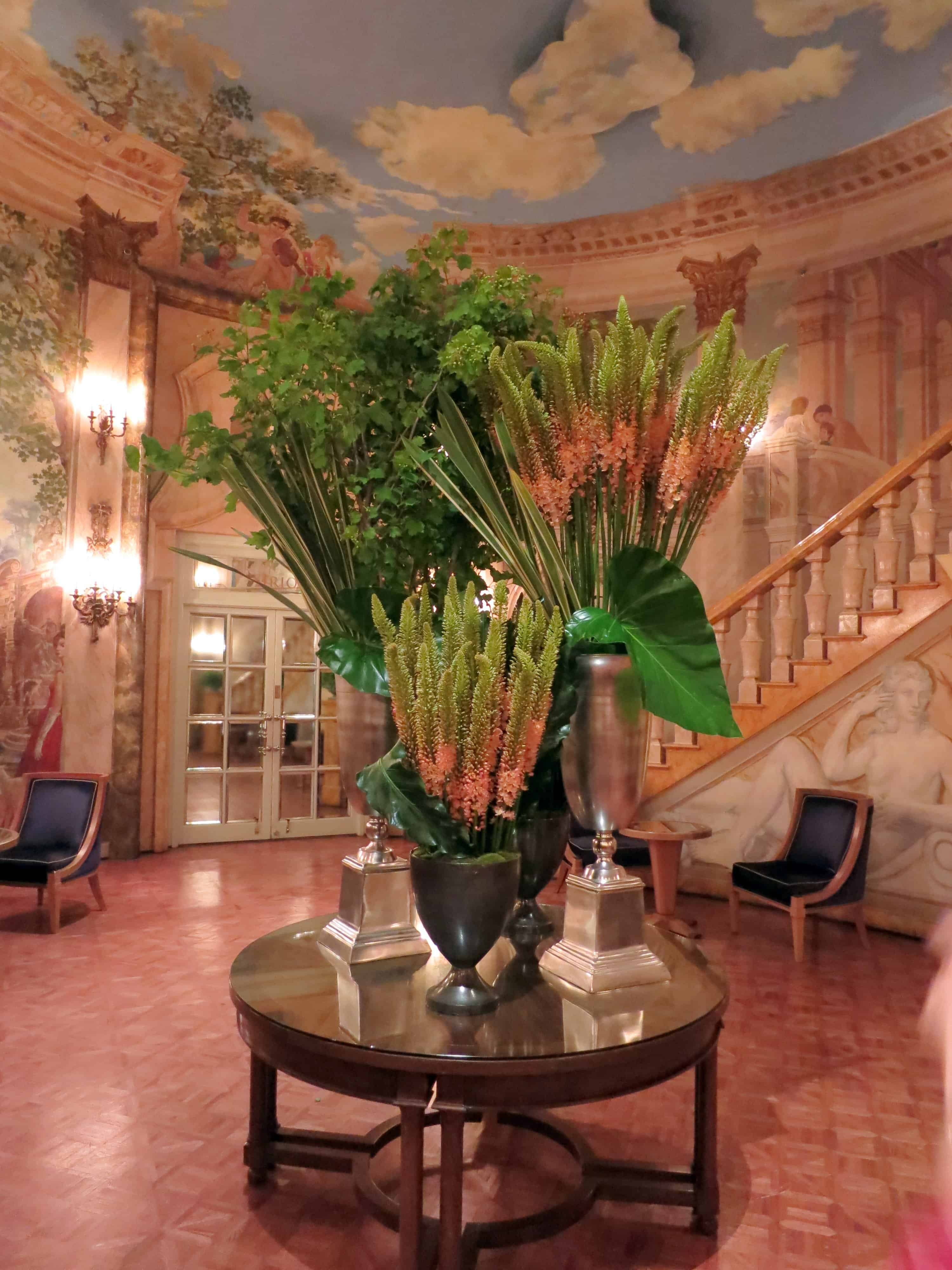 Rotunda at The Pierre, one of many beautiful public spaces throughout the hotel
