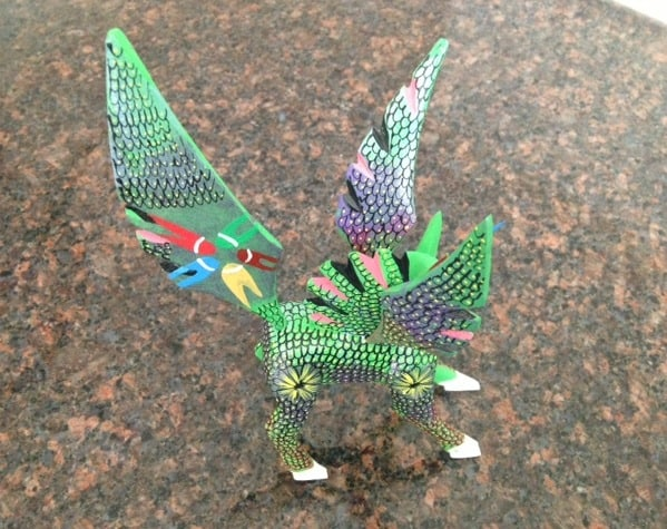 An alebrije from Huatulco