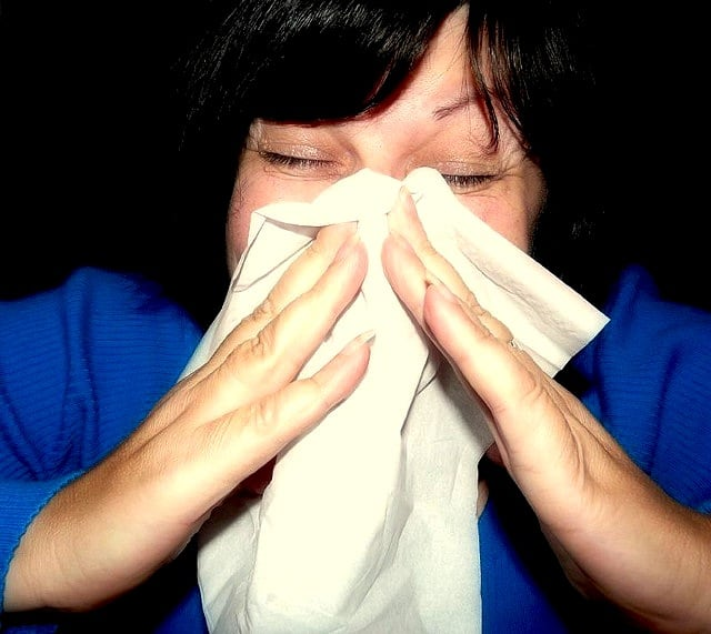 The dreaded sneeze (Photo credit: M. McFarland, Creative Commons)