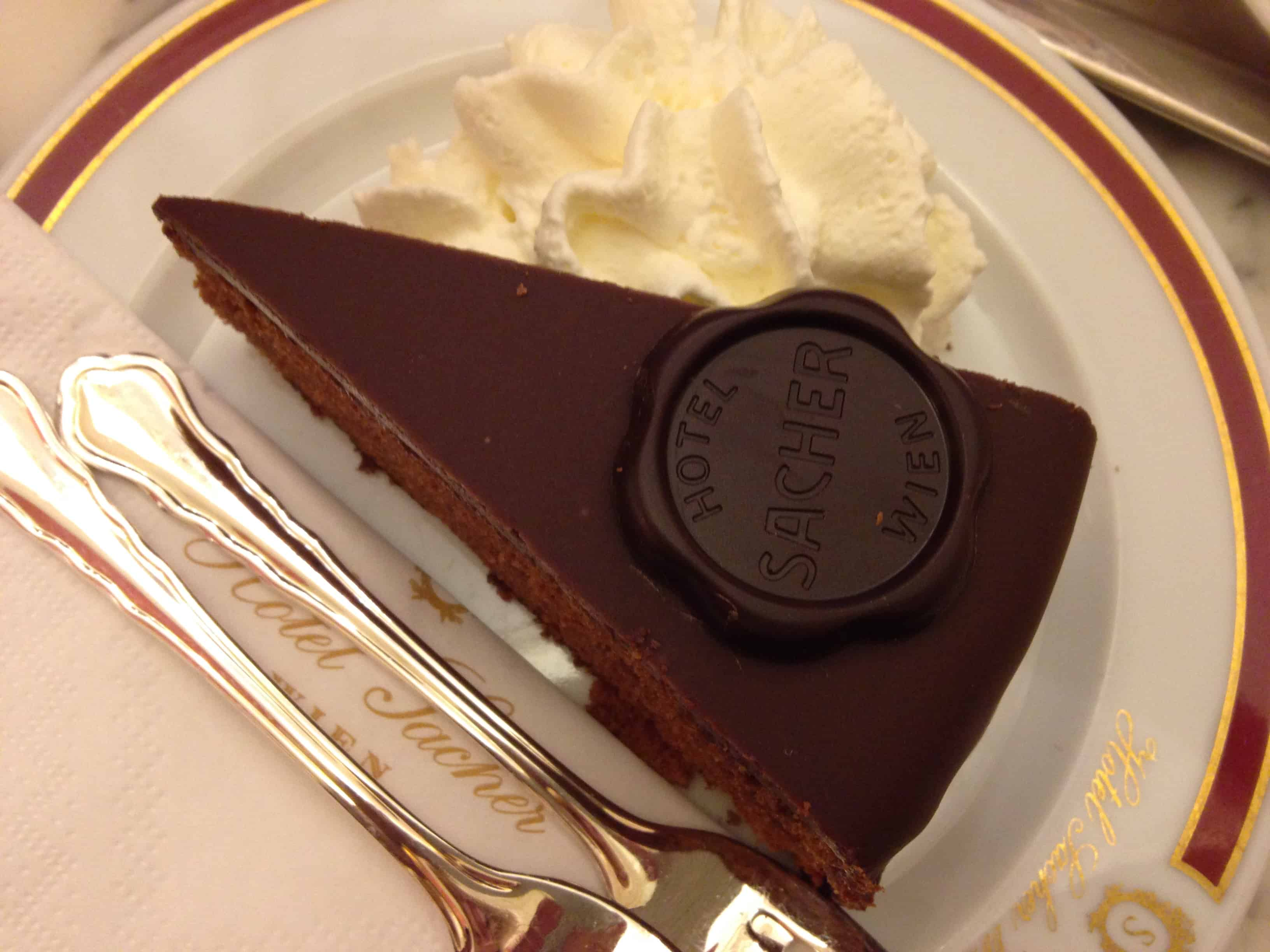 Sacher Cake Vienna Price