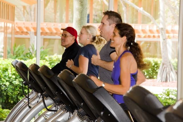 Treadmills A stay at the Pritikin Longevity Center & Spa in Miami