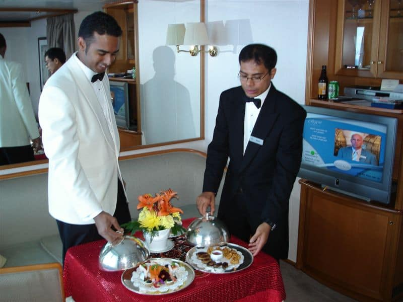 Butlers Ian and Gusti Guest Post   The butler did it all...on Regent Seven Seas Voyager