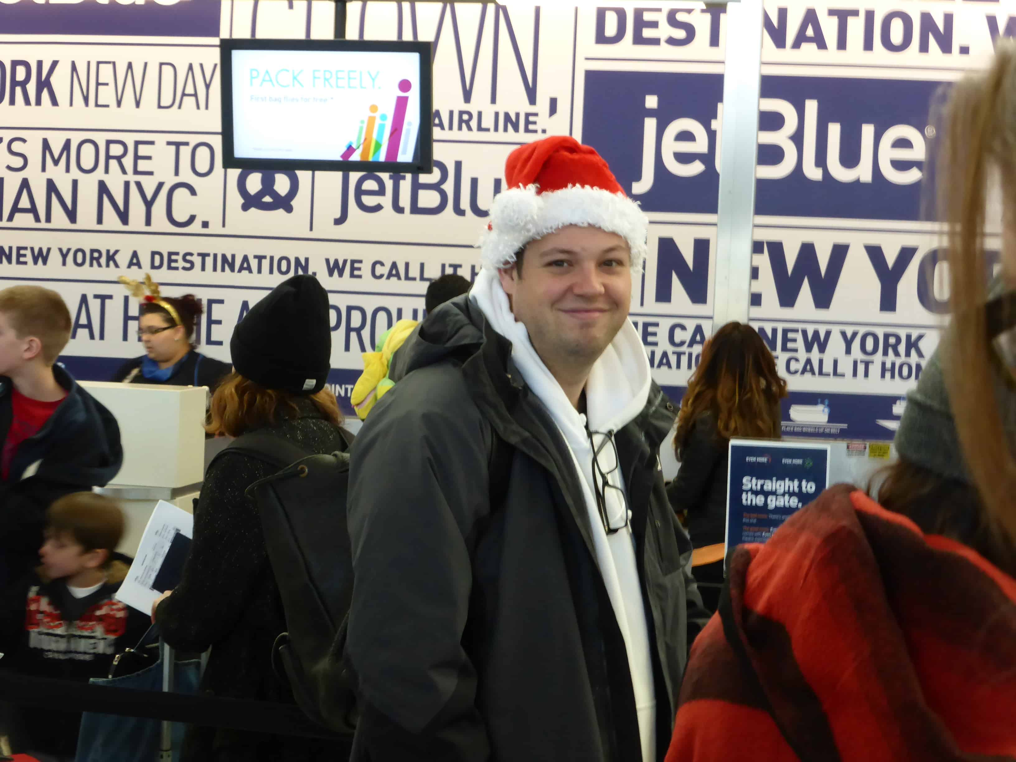 What is it like to fly on Christmas Day? - More Time to Travel