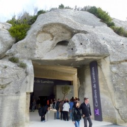 Carrieres de Lumieres: Dazzling sound and light show in Les Baux-de-Provence