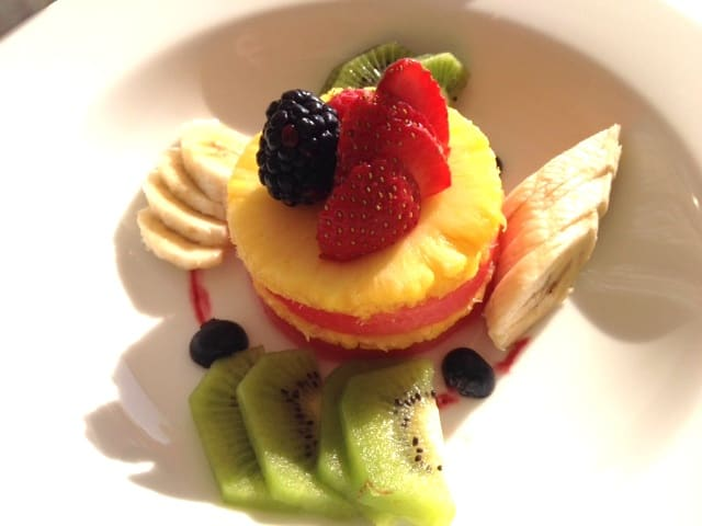 fruit Worlds Best Breakfasts: Fruit plate at Grand Velas Riviera Maya