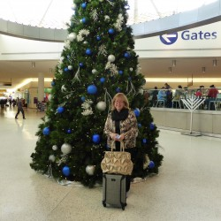 What is it like to fly on Christmas Day?
