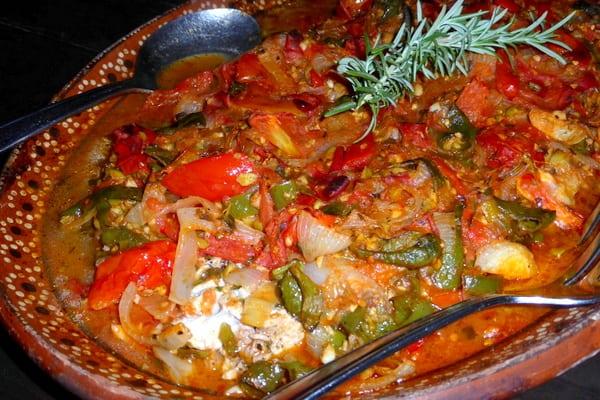 Fish tales recipe for yellowtail veracruzana more time for Fish veracruz recipe