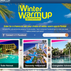 Florida Winter Warm-up Sweepstakes (contest ended)
