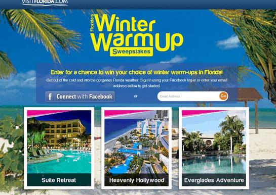 Florida Winter Warmup Sweepstakes