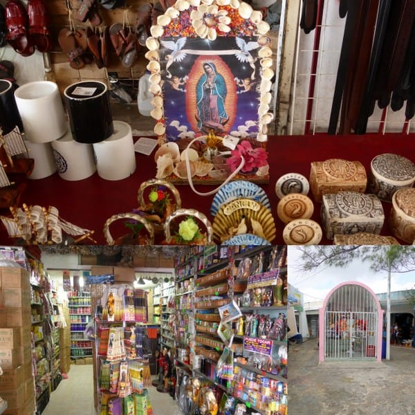 Religious/spiritual side to Mercado 23