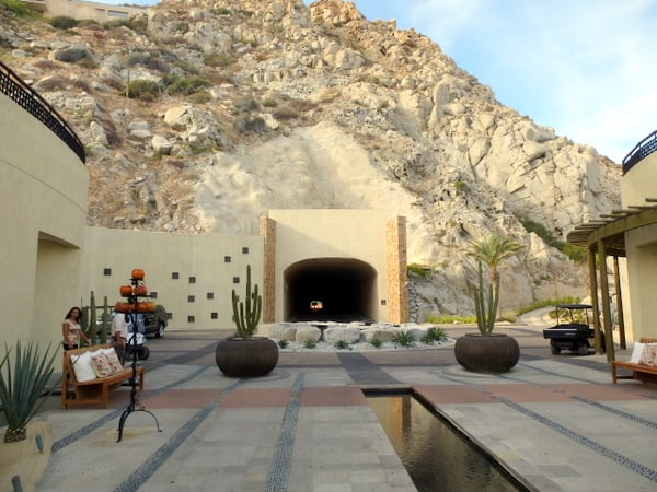 Leaving the resort thru the only private tunnel in Mexico (Credit: Jerome Levine)