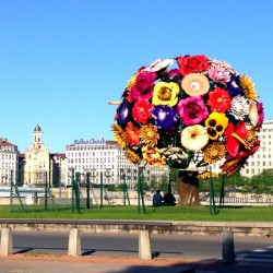 The Flower Tree Sculpture in Lyon