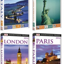 Giveaway: Win a 4-pack of DK Eyewitness Travel Guides (contest ended)