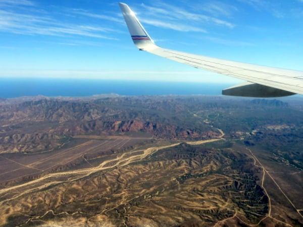 Winging over Los Cabos
