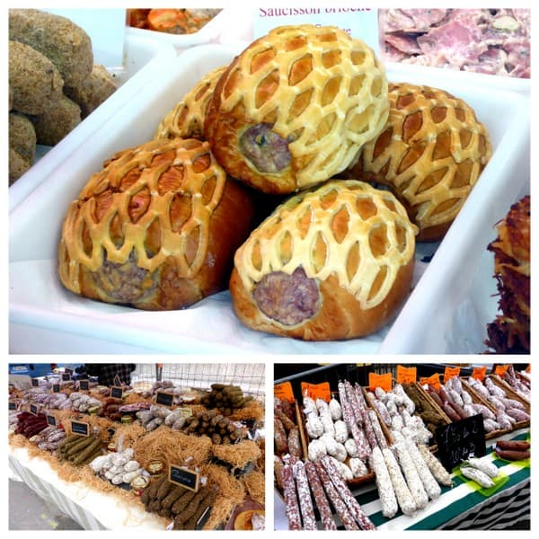 Market visit saint antoine market in lyon france more for Saucisson brioche