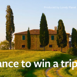 Win a trip for two to Italy (contest ended)