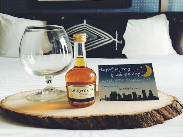 Cognac Nightcap (photo credit: RiverPlace Hotel)