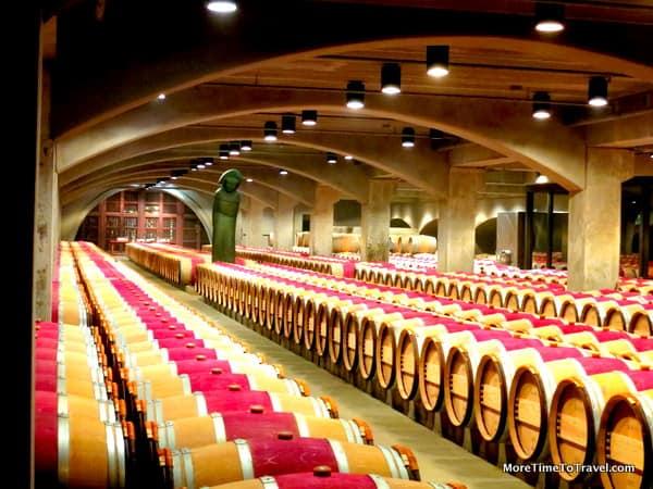 Robert Mondavi Barrel Room