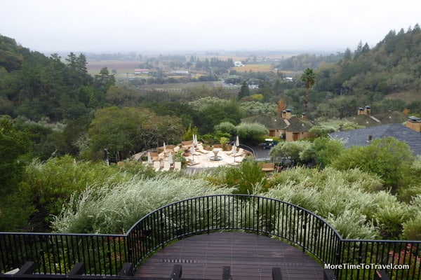 auberge du soleil the best view in the napa valley and
