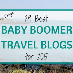 More Time To Travel named one of the Best Baby Boomer Travel Blogs by Discover Corps