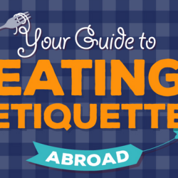 The etiquette of dining abroad