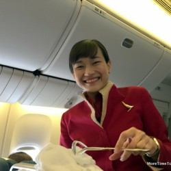What is it like to fly Cathay Pacific premium economy?