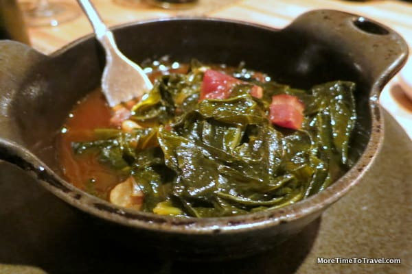 Collard Greens at Husk