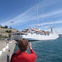 Guest Post – Sailing the Mediterranean on Wind Surf:  Historic ports. Unique ship