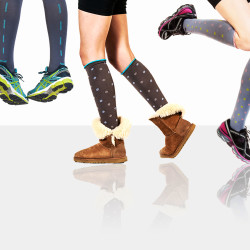 Lily Trotters: Compression socks that look pretty