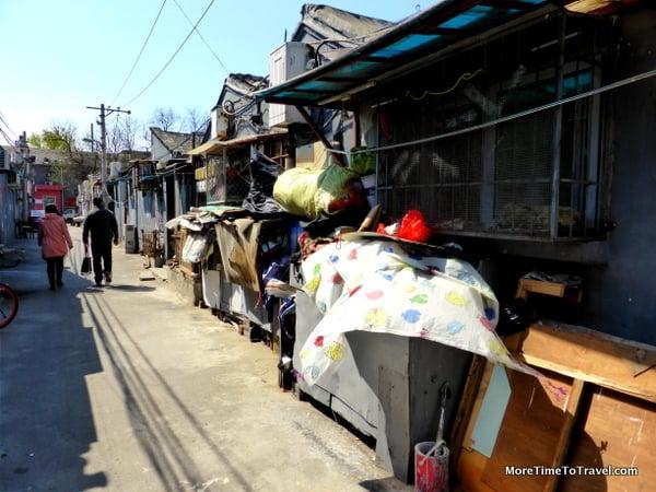 An alley inside a hutong