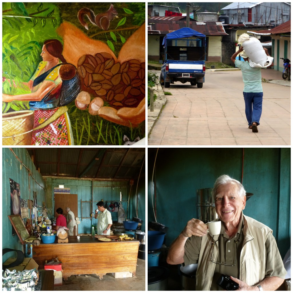 Visiting the coffee region of Pluma Hidalgo in Oaxaca, Mexico to learn about coffee growing