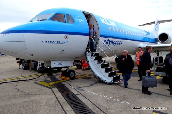 What Is It Like To Fly A Klm Cityhopper More Time To Travel