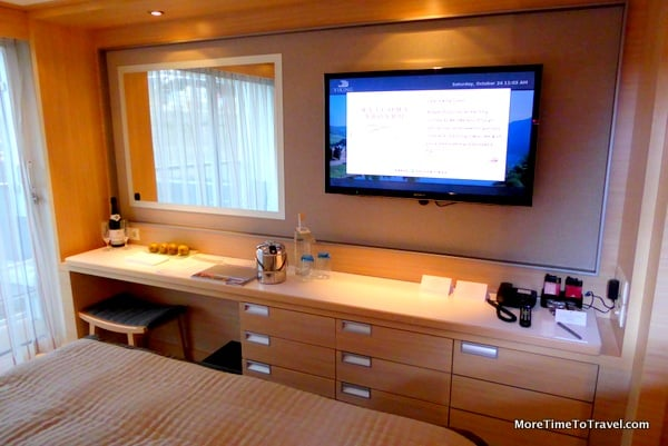 Drawer space on our cabin on the Viking Forseti