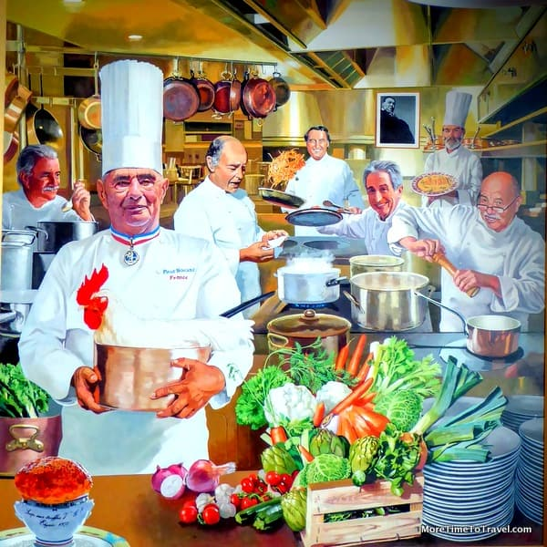Bocuse on the Hudson: Lunch at the CIA